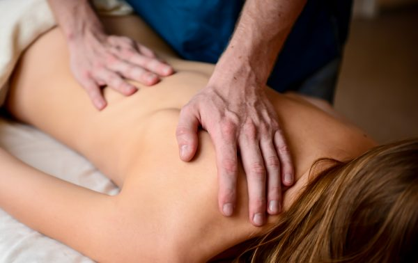 сайт для курсов массажа